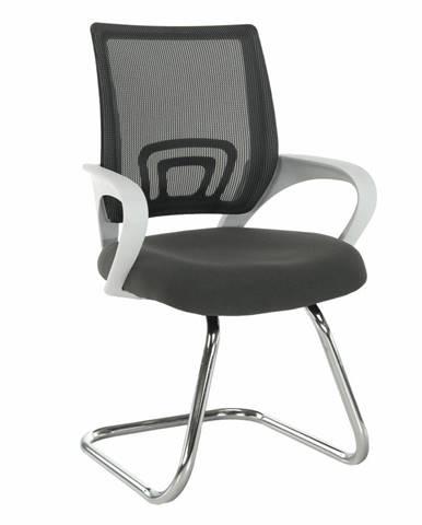 Tempo Kondela Konferenční židle Sanaz, šedá