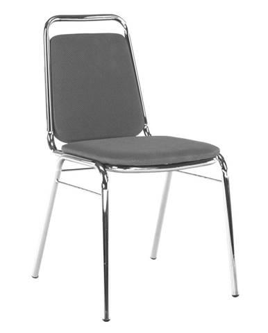 Tempo Kondela Konferenční židle Zeki, šedá