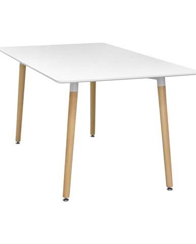 Jídelní stůl 140x90 UNO bílý