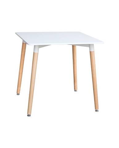 Jídelní stůl 80x80 UNO bílý