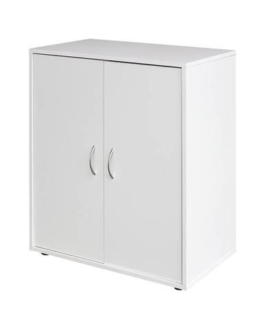 Prádelník 2 dveře 1501 bílý