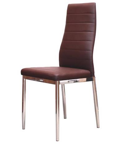 Jídelní židle MILÁNO, hnědá