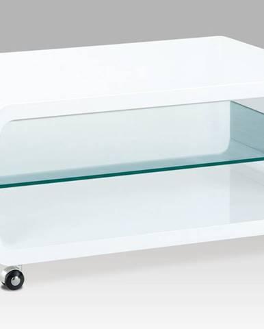 Konferenční stolek AHG-611 WT, bílý lesk