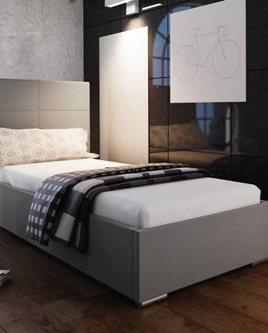 Čalouněná postel SOFIE 4 80X200 cm, béžová látka