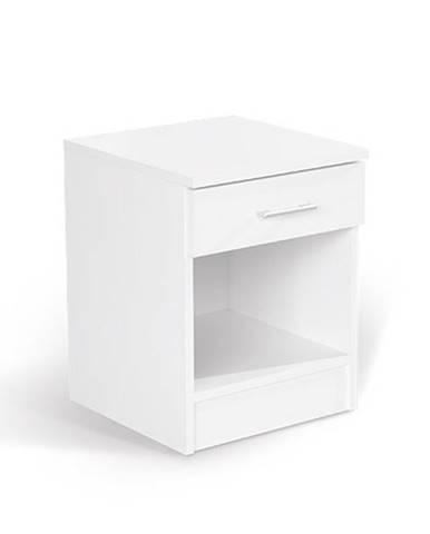 Noční stolek ALFA, bílá