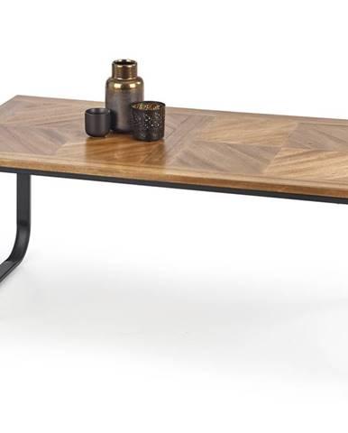 Konferenční stolek MAZZOLA, ořech tmavý