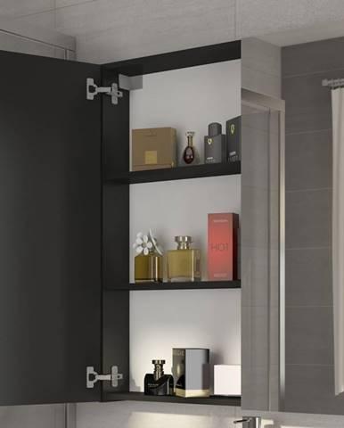 Koupelnová skříňka DELLA 60 cm, černá
