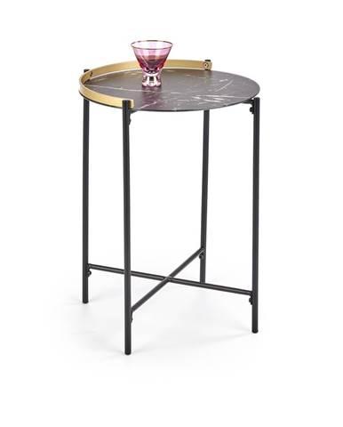 Odkládací stolek LINUX, mramor
