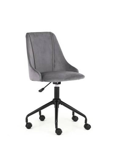 Dětská židle BREAK, tmavě šedá
