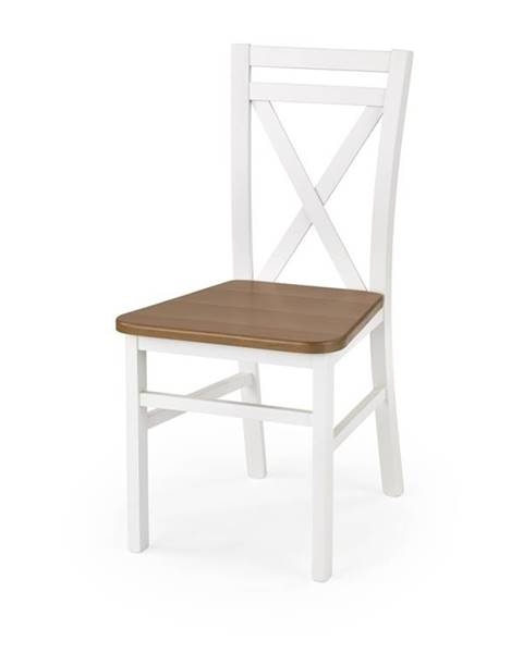Smartshop Jídelní židle DARIUSZ 2, bílá/olše
