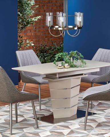 Rozkládací jídelní stůl SORENTO, champagne