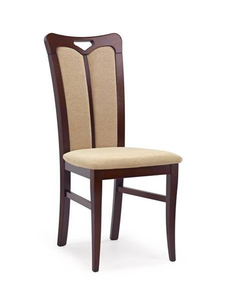 Smartshop Jídelní židle HUBERT 2, ořech tmavý