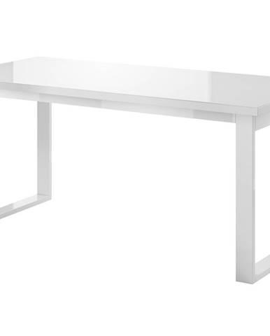 HELIO TYP 92 rozkládací stůl, bílá/bílá sklo