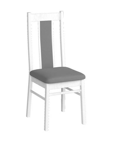 KORA židle KRZ, borovice andersen/šedá látka