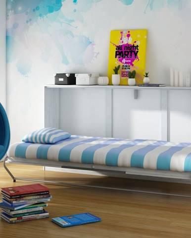ROGER, multifunkční postel, craft bílý/grafit
