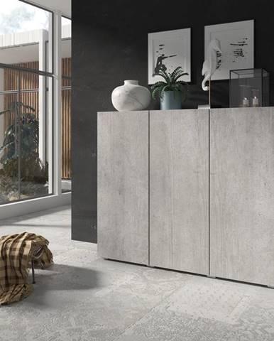 DELOS komoda 3D TYP 46, beton colorado