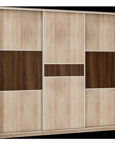 Šatní skříň RICO 240C, barva: