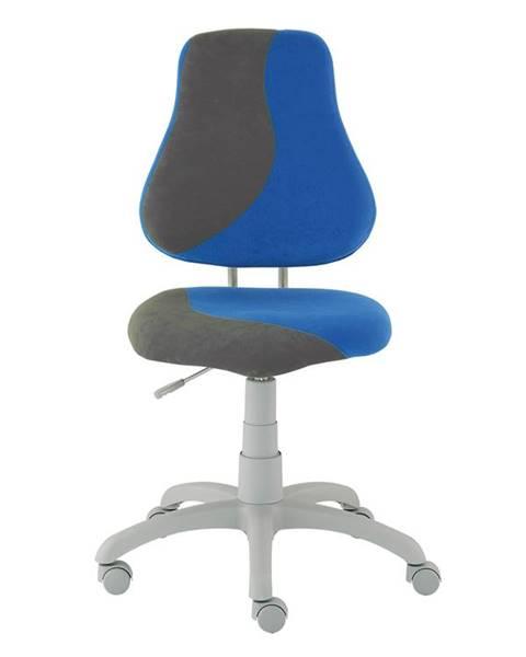 Smartshop Dětská židle FUXO S, modrá/šedá
