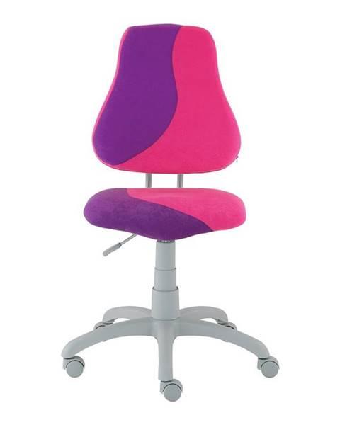 Smartshop Dětská židle FUXO S, růžová/fialová