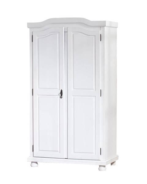Smarshop Šatní skříň HEDDA, bílá