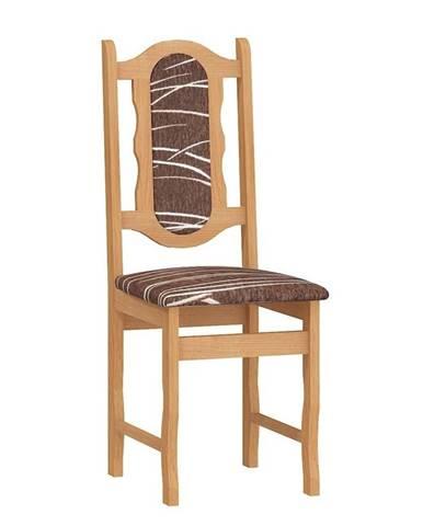 Jídelní židle C, potah safari, barva: olše