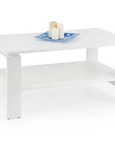 Konferenční stolek ANDREA, bílá