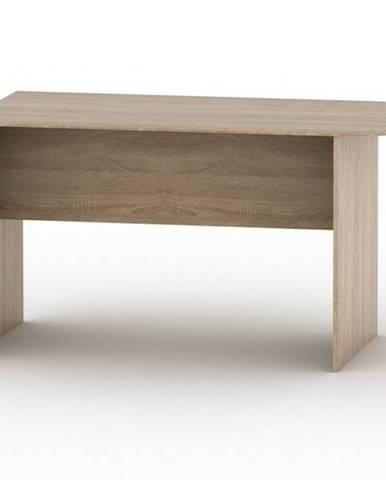 TEMPO AS NEW 022 kancelářský stůl s obloukem, dub sonoma