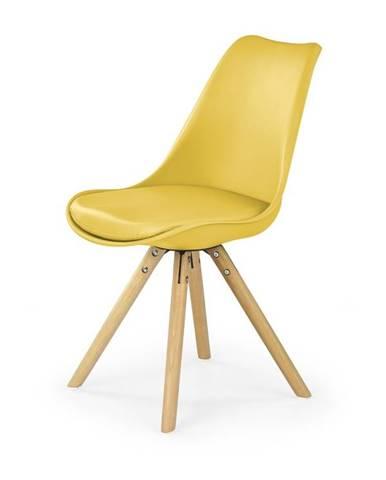 Židle K-201, žlutá
