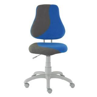 Dětská židle FUXO S, modrá/šedá