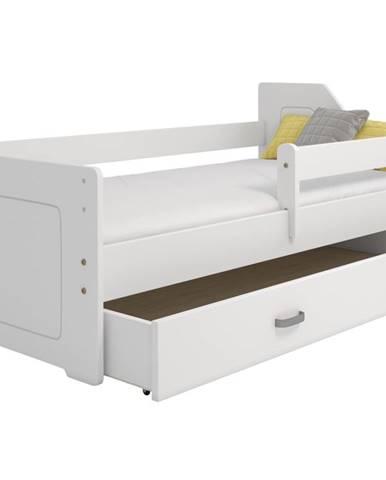 Dětská postel MIKI B4 80x160, bílá + barva čela: …