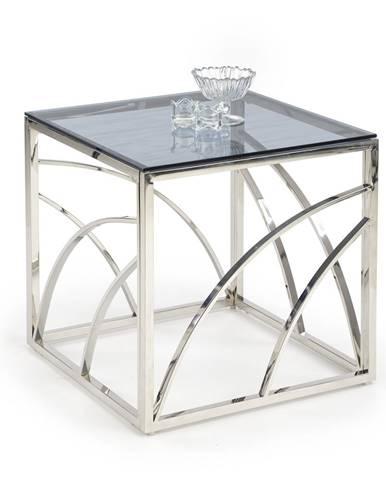 Konferenční stolek UNIVERSE KWADRAT, stříbrná