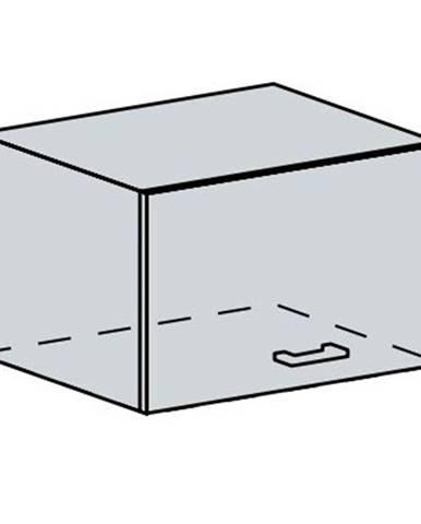 VERONA, skříňka nad digestoř 60 VP, bílá/zlatý jasan