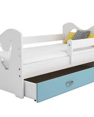 Zásuvka pod postel MIKI, modrá
