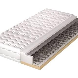 Pružinová matrace s pevným rámem HELVETIA 140x200 cm