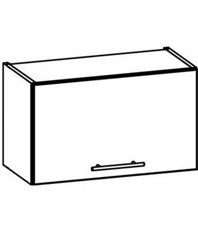 TIFFANY, horní skříňka nad digestoř G60O, bílý lesk
