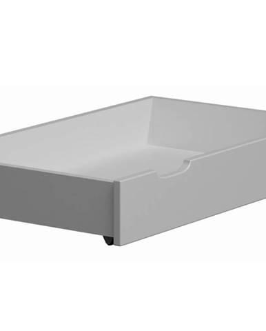 Úložný prostor pod postel 98 cm, masiv borovice/moření bílá