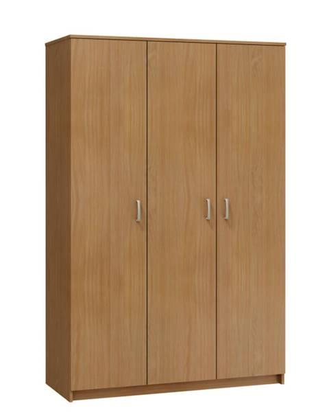 MORAVIA FLAT Šatní skříň TEFO 3D, barva: