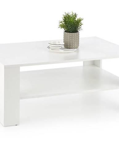 Konferenční stolek KWADRO LAWA, bílá