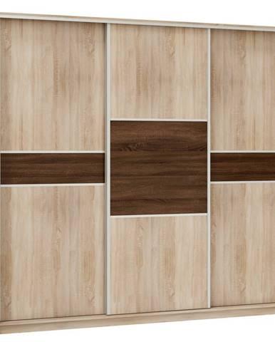 Šatní skříň PUERTO 240D, barva: