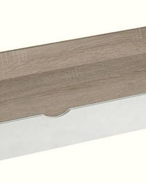 Smartshop Zásuvka pod postel APETTITA 13, dub jasný/bílá