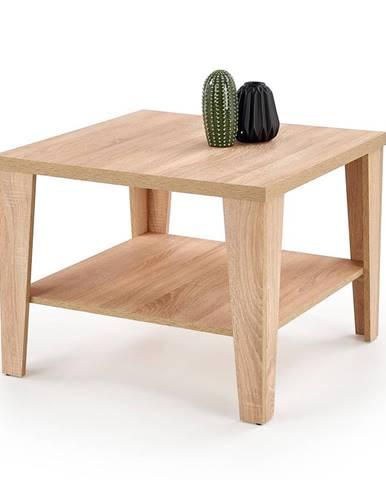 Čtvercový konferenční stolek MANTA KWADRAT, dub sonoma