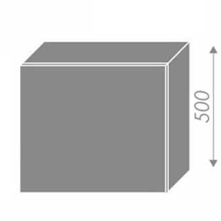 EMPORIUM, skříňka horní na digestoř W8 60, korpus: grey, barva: grey stone