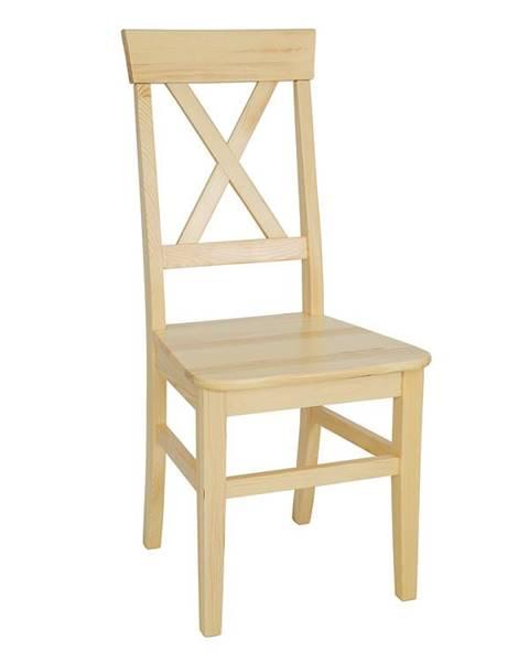 Smartshop Jídelní židle KT107, masiv borovice, moření: …