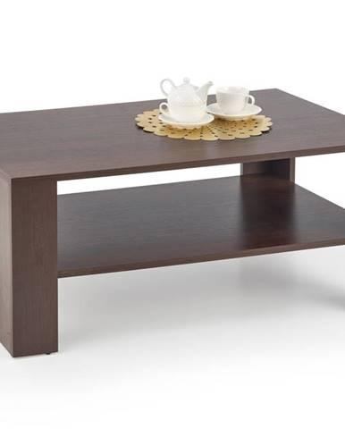 Konferenční stolek KWADRO LAWA, ořech tmavý