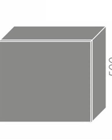 PLATINUM, skříňka horní na digestoř W8 60, korpus: grey, barva: vanilla