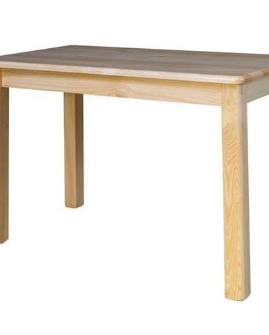 Rozkládací jídelní stůl ST104, 120x75x60, moření: …