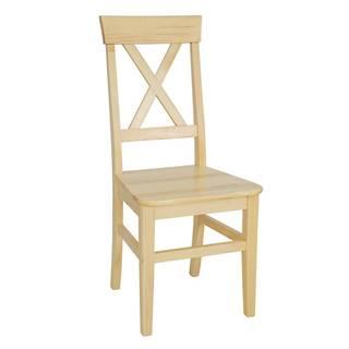 Jídelní židle KT107, masiv borovice, moření: …
