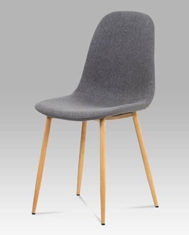Jídelní židle CT-391 GREY2, šedá/buk