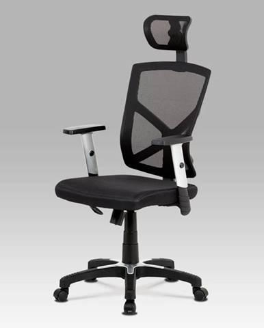 Kancelářská židle KZKA-H104 BK, černá