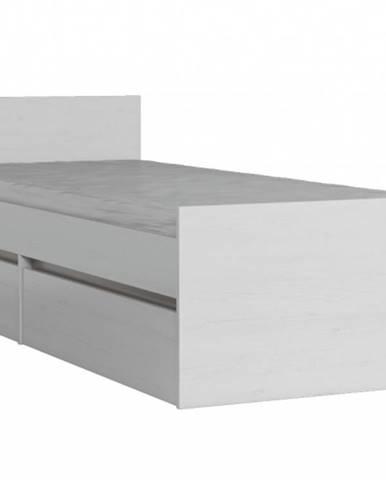 MATI postel L1 90x200 cm, borovice andersen/congo